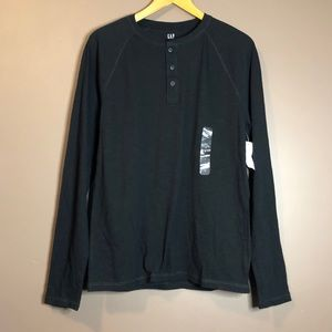 3 for $20! NWT! Gap lived in black long sleeve top